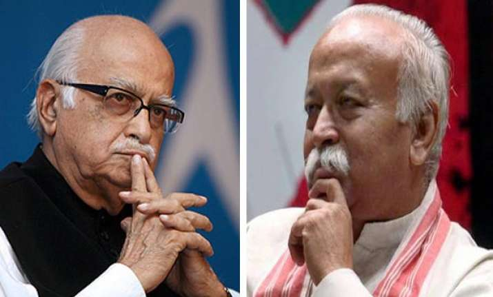 advani withdraws resignation after rss chief s intervention