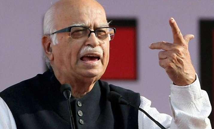 advani stays away from media after karnataka development