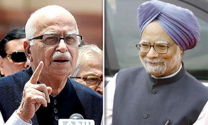 advani takes potshots at pm