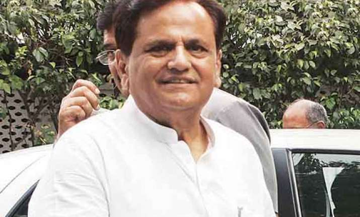 ahmed patel confident congress will do well