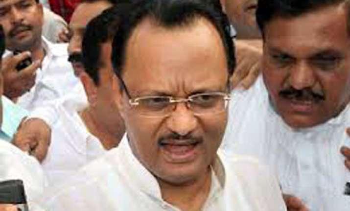 ajit pawar attacks modi bats for rahul
