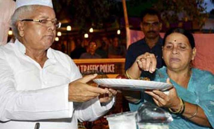 alliance colour visible at lalu s iftar