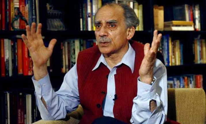 almost no relationship with bjp shourie