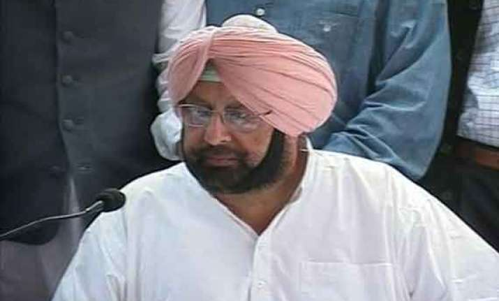 amarinder singh flays centre over its handling of iraq issue