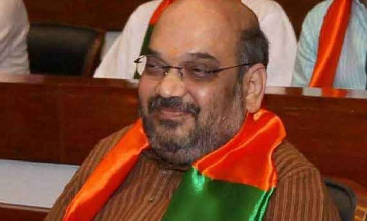 amit shah may be announced bjp president wednesday