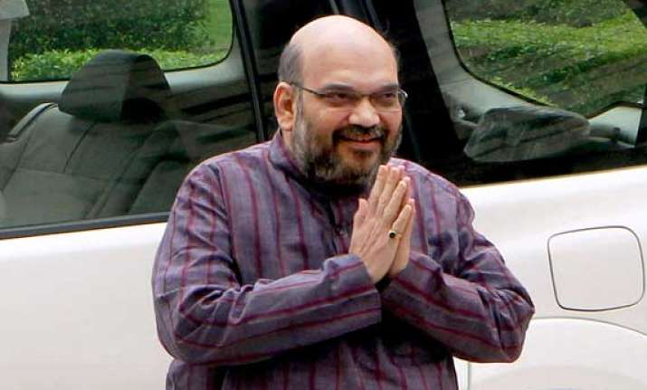 amit shah set to be named bjp president