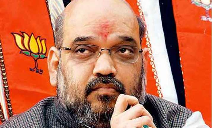 amit shah stands for communal politics cpi m