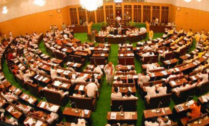 andhra assembly remains paralysed over telangana issue