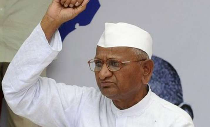 anna hazare supports farmers protests in maharashtra