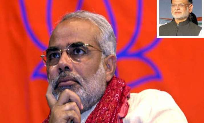 appoint lokayukta guj congress tells narendra modi