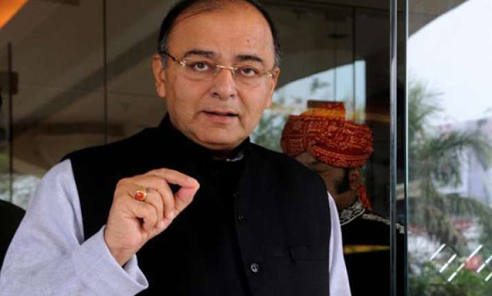 arun jaitley files nomination papers