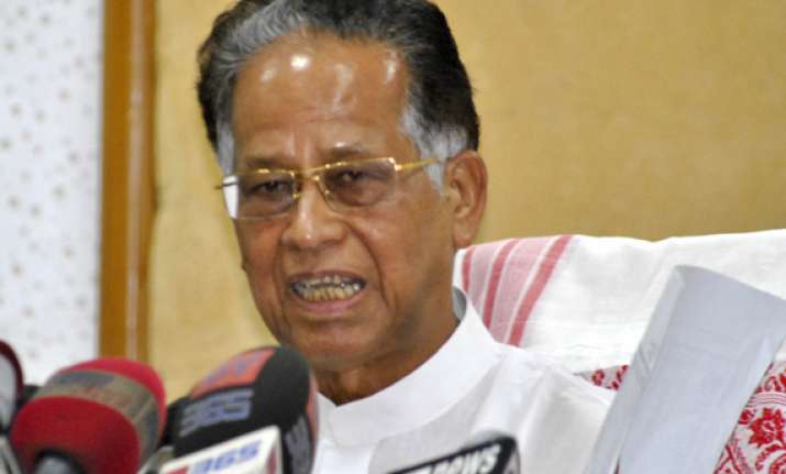 assam cm gogoi rules out dissidence against his leadership
