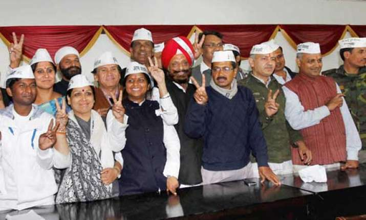 at a glance election manifesto of kejriwal s aam aadmi