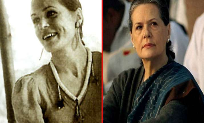 at a glance sonia gandhi from italy s village girl to india