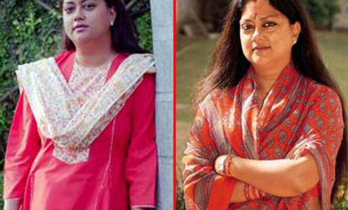 at a glance vasundhara raje scindia from princess of