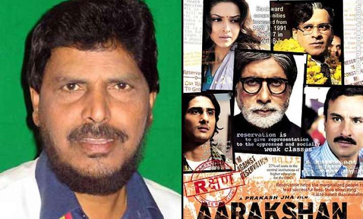 athawale says would oppose aarakshan if anti dalit