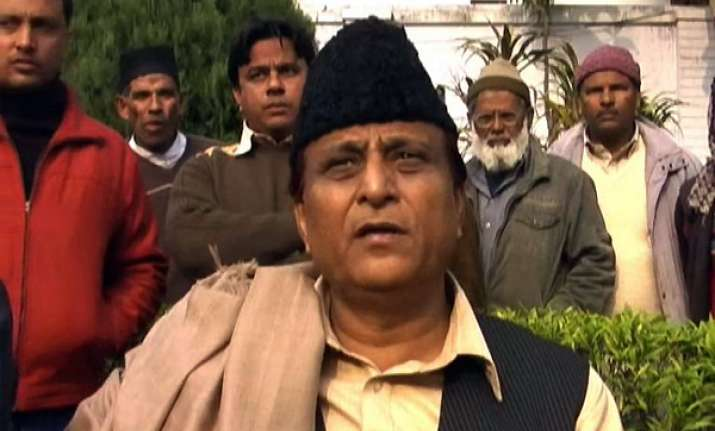 azam khan accuses bsp of maligning sp government s image