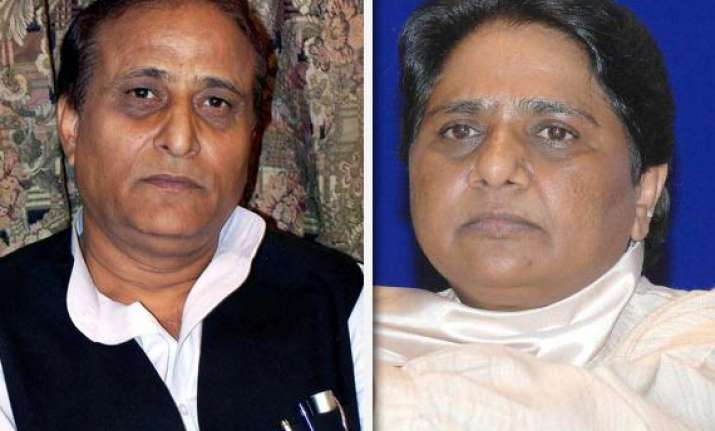azam khan says mayawati trying to fool muslims