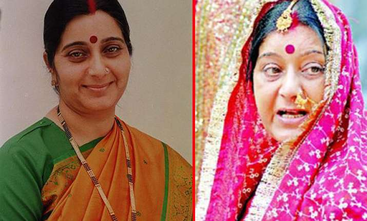 b day special sushma swaraj bjp leader who threatened to