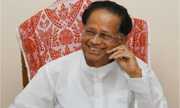 bjp aiudf in unholy alliance for rs polls gogoi