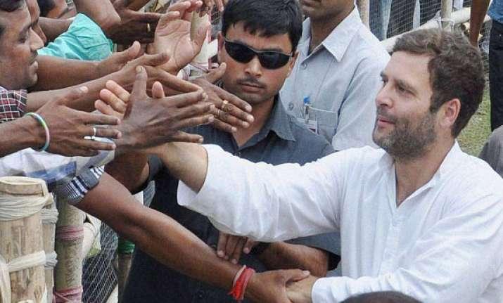 bjp modi are dividing india like the british rahul gandhi