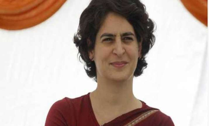 bjp attacks priyanka alleges she benefitted a lot during