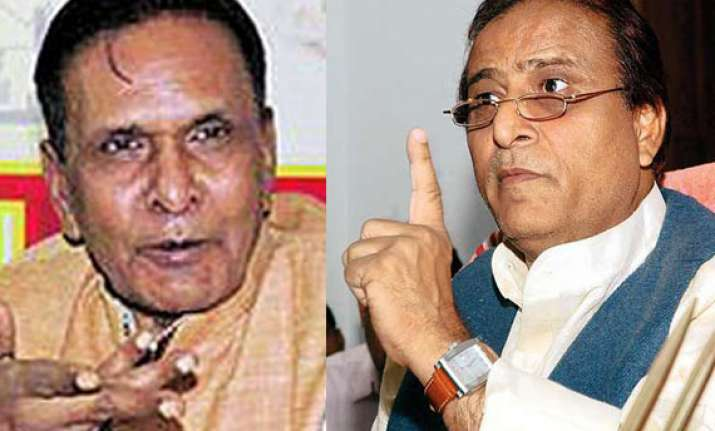 bjp complains to ec over abusive remarks by beni azam khan