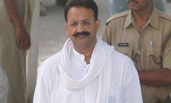 bjp describes congress mukhtar ansari pact as unholy