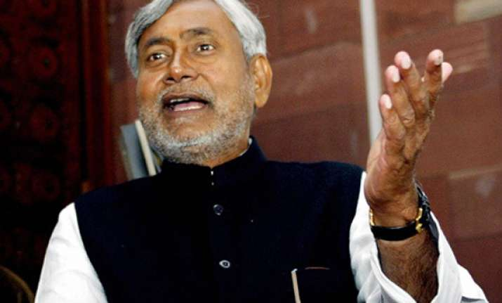 india needs a leader who can unite not divide nitish