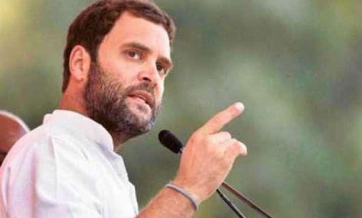 bjp does not believe in empowering people rahul gandhi