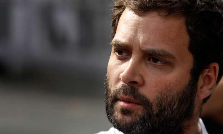 bjp files complaint against rahul gandhi