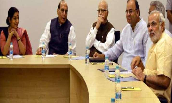 bjp leaders hold meetings
