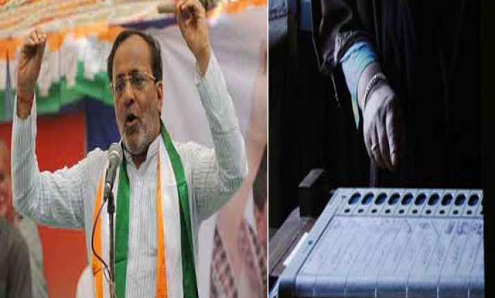 bjp manipulated evms in gujarat civic polls says congress