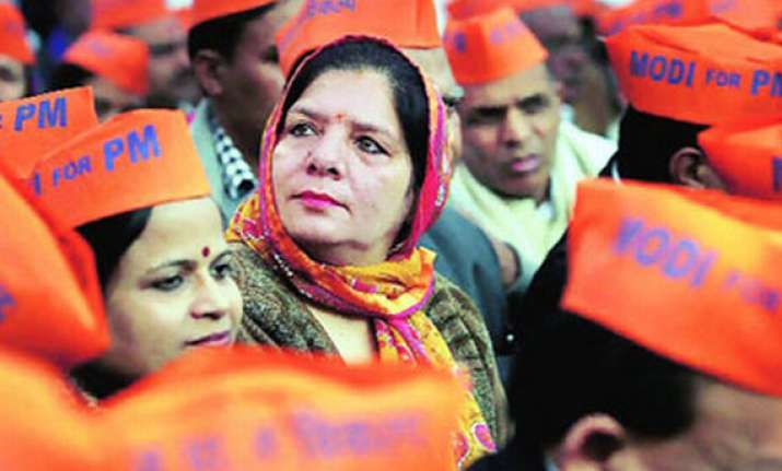 bjp may get 41 49 seats in up says survey