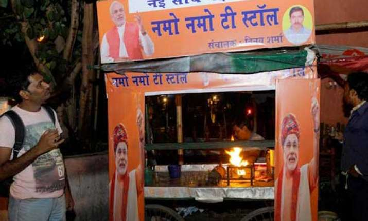 bjp opens tea stalls ahead of modi s odisha rally