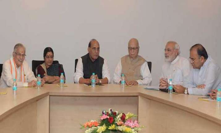 bjp parliamentary board to meet in delhi on may 17 rajnath