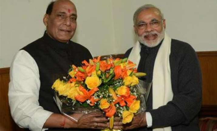 bjp poll committee may decide seats for modi rajnath