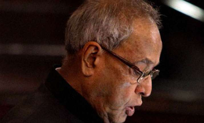 bjp relieved as president cuts short his bihar visit