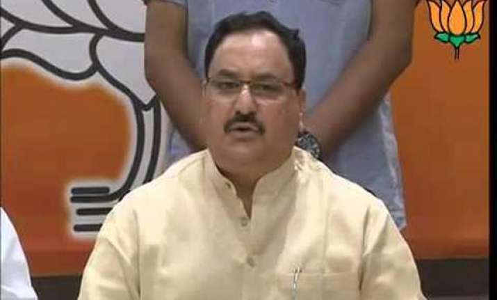 bjp seeks ec action against cong for misrepresenting facts