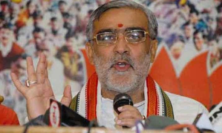 bjp should govern bihar if nitish falls thakur
