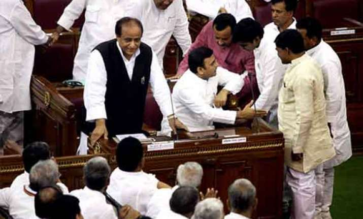 bjp stages walkout in up assembly