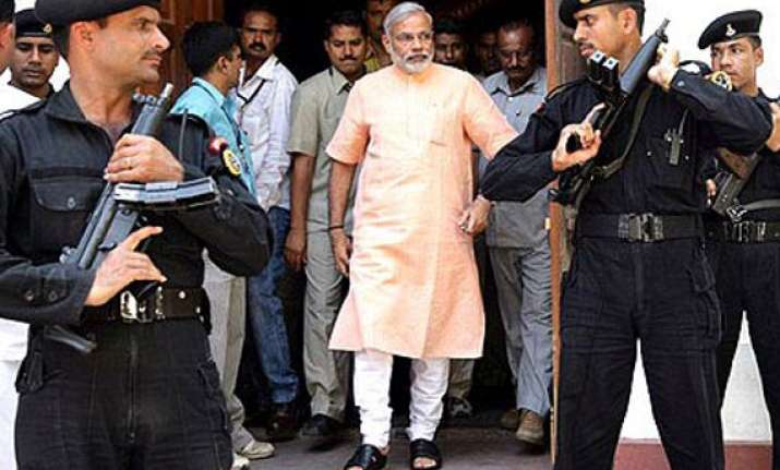 bjp wants full security for modi s goa meet