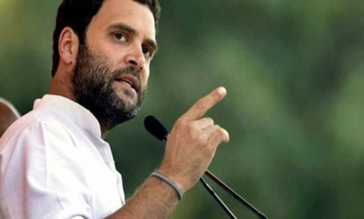 bjp wants to divide india in 2 parts says rahul gandhi