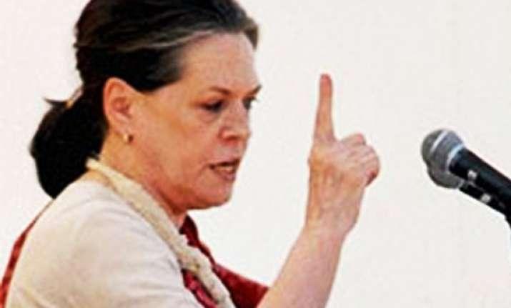 bjp will ruin bharatiyata hindustaniyat sonia