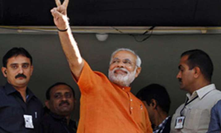 bjp wins 47 out of 76 municipalities in gujarat civic polls