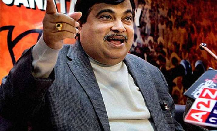 bjp can alter the nation s face in three years gadkari
