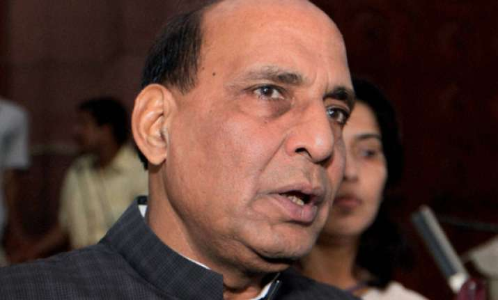 bjp front runner in assembly polls says rajnath
