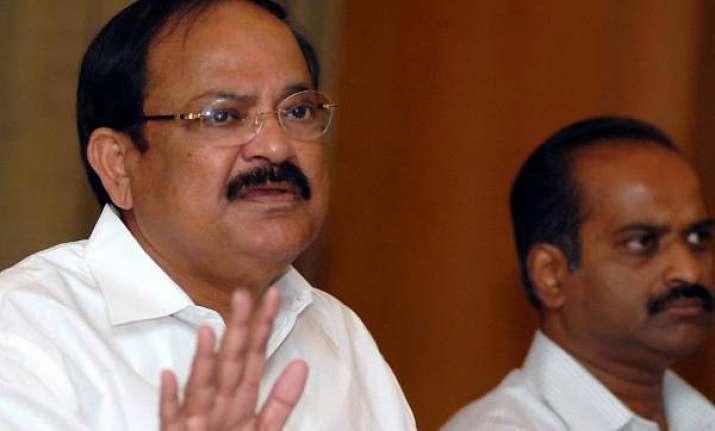 bjp not to offer freebies says venkiah naidu