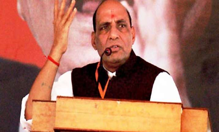 bjp to go alone in 2012 up polls rajnath