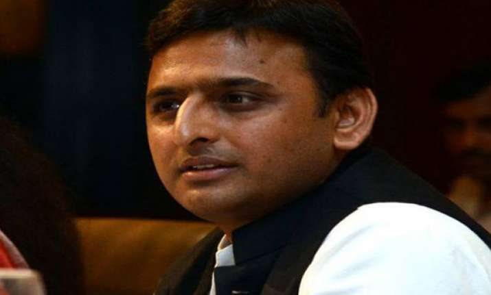bjp criticises akhilesh